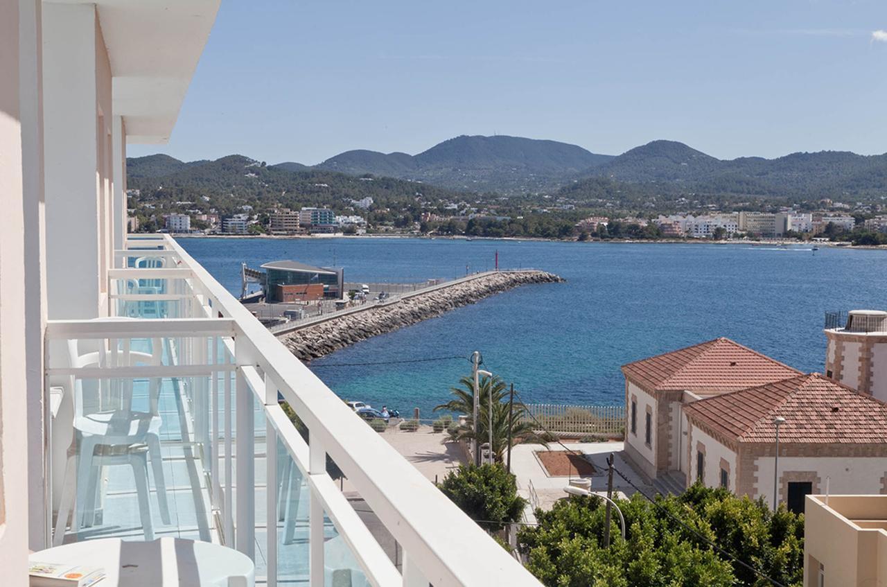Widok z hotelu na Ibizie zakwaterowanie