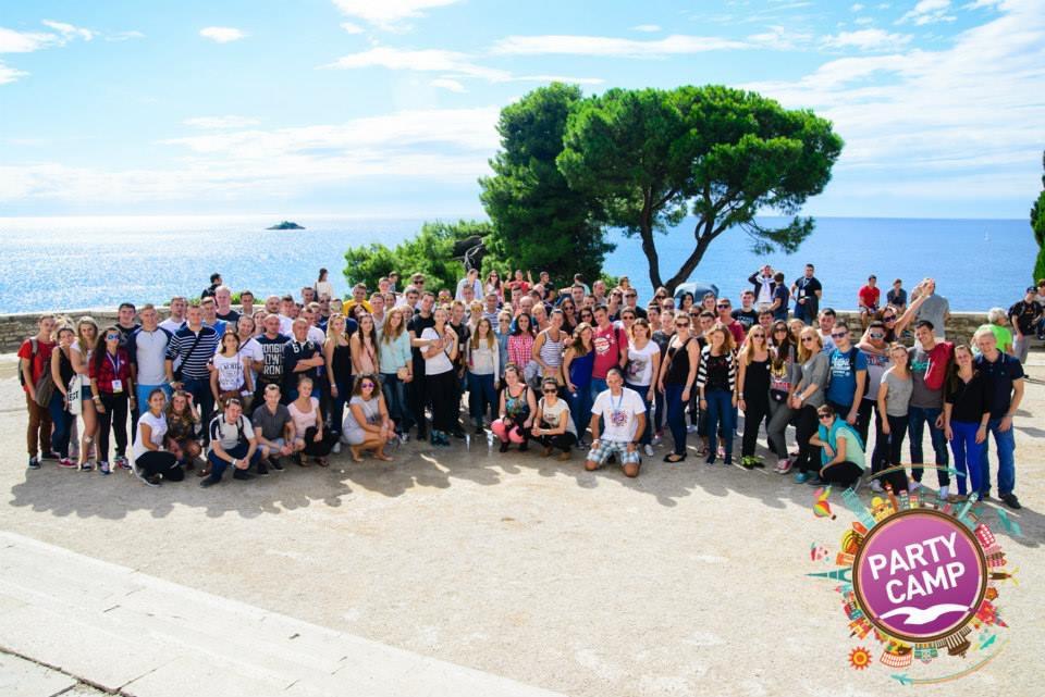 Ekipa wyjazdów studenckich Party Camp