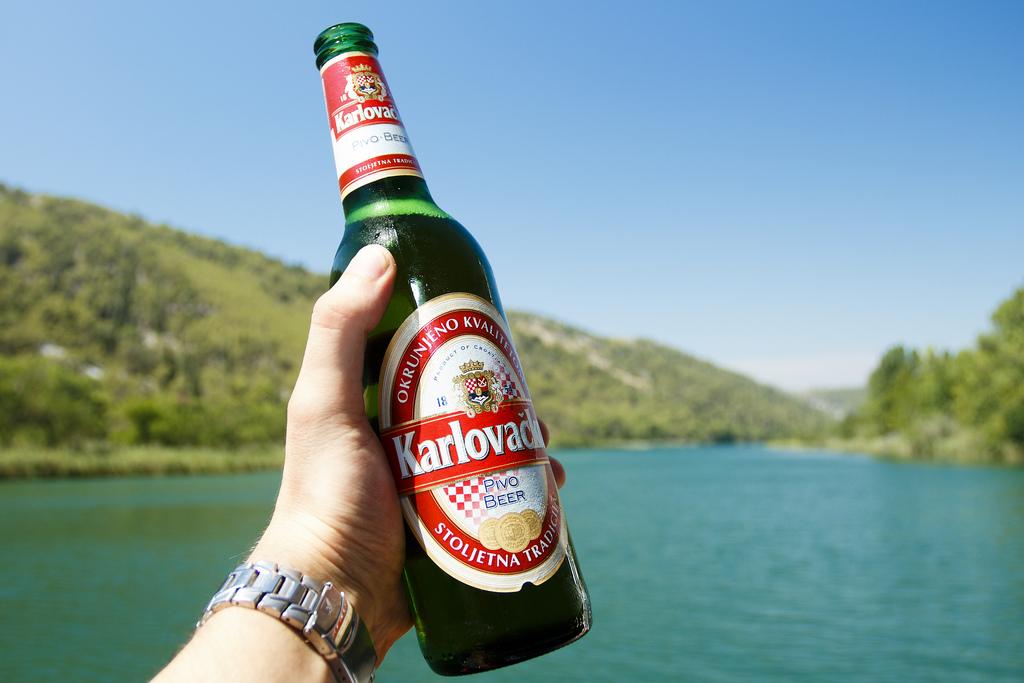 Piwo z Chorwacji Karlovacko