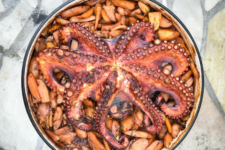 Owoce morza chorwacka kuchnia
