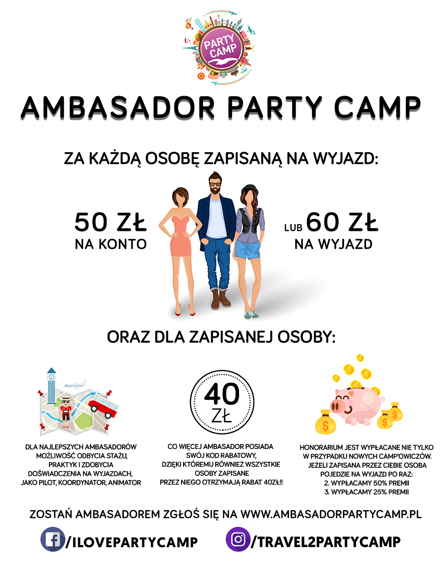 ambasador party camp
