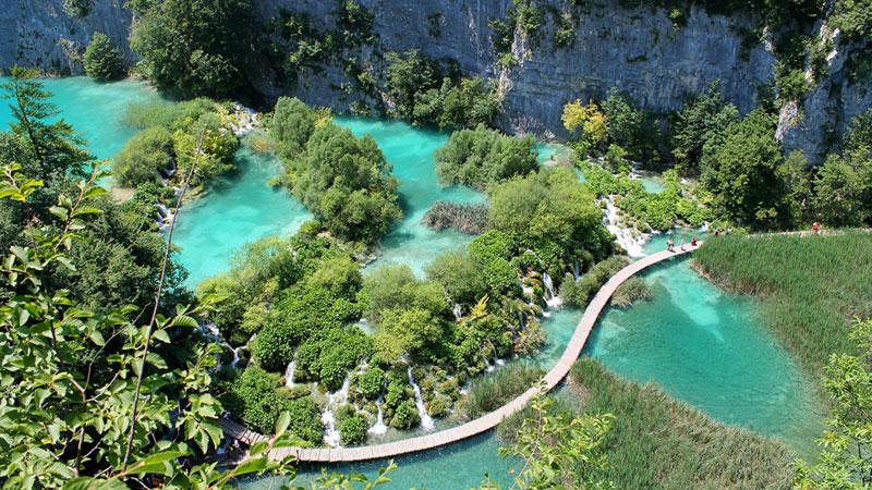 Park Jezior Plitvickich Chorwacja
